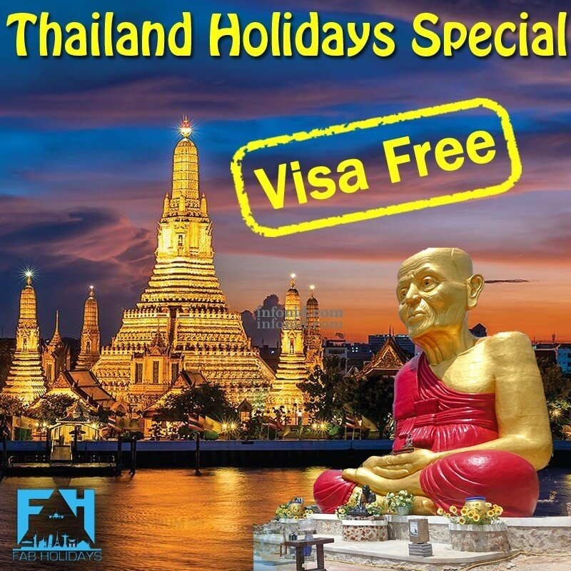 Dreaming Thailand Holidays Special Packages
