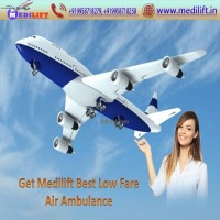 Use Prodigious ICU Support Air Ambulance Service in Kolkata by Medilif