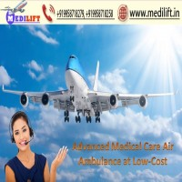 Pick Spectacular and Elite Air Ambulance Service in Ranchi by Medilift