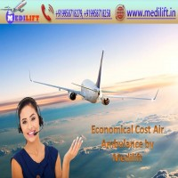 Inexpensive Commercial Air Ambulance Service in Guwahati