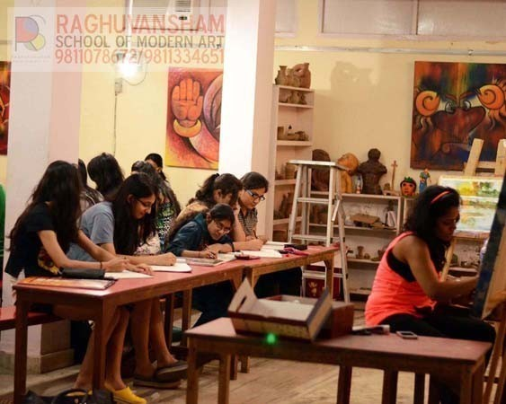 fine art certificate and diploma courses in west delhi