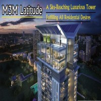 M3M Latitude is a luxurious residential property in sector 65