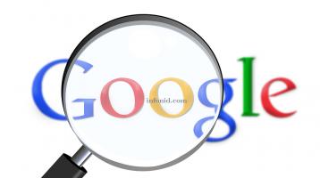 Google Celebrating 20th birthday.